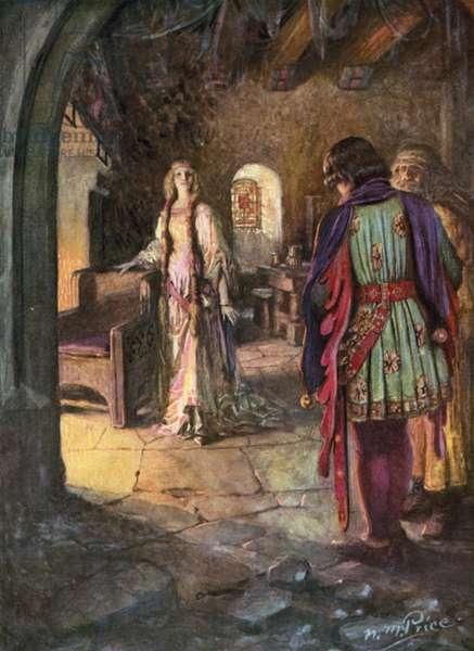 Tennyson, The Marriage Of Geraint (colour litho)