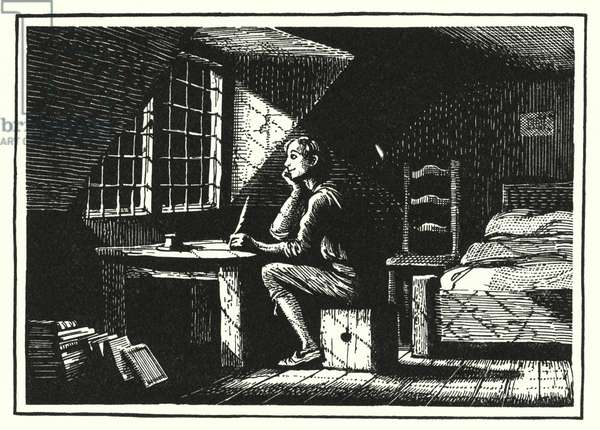 Hans Christian Andersen: The Goblin And The Huckster (litho)