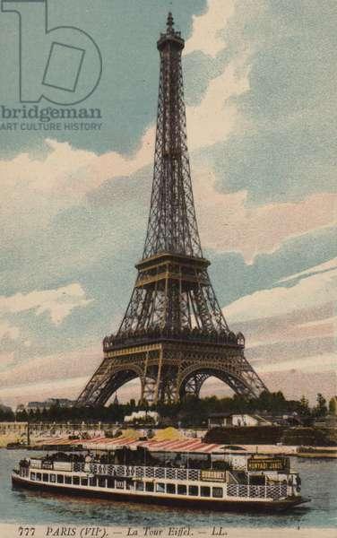 Eiffel Tower, Paris (photo)