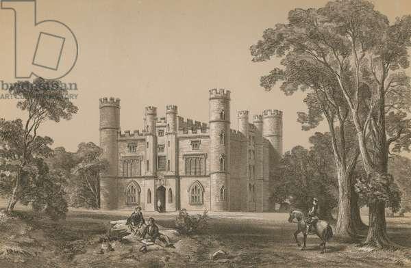 Kew Palace (chromolitho)