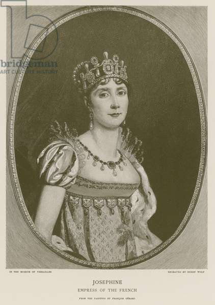 Josephine, Empress of the French (engraving)