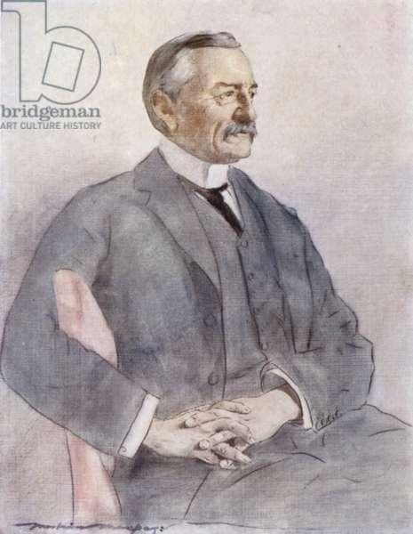 Colonel Frank Rhodes (colour litho)