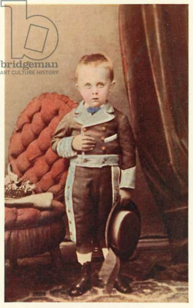 Max Minimus, the young Max Beerbohm (colour photo)