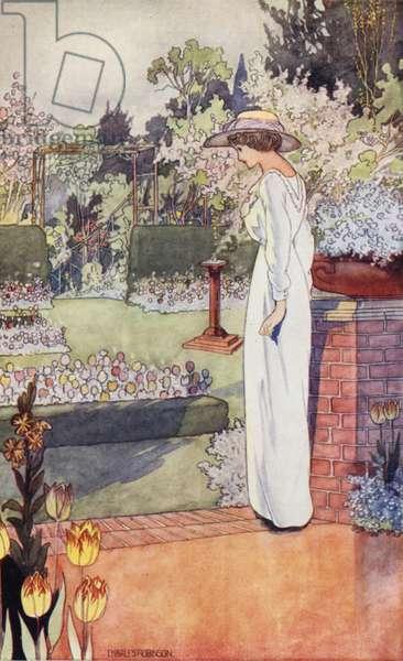Our Sentimental Garden: The Dutch Garden (colour litho)