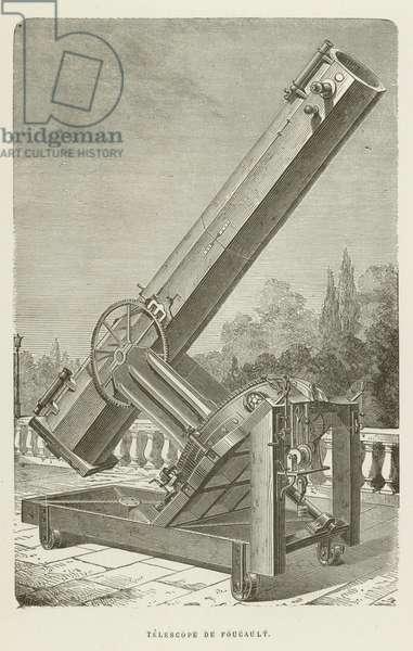Telescope de Foucault (engraving)