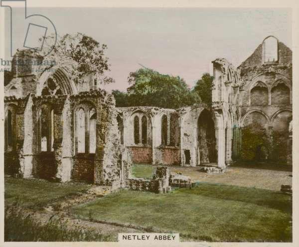 Netley Abbey (coloured photo)
