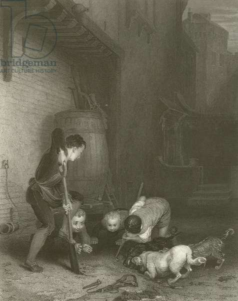 The Rat Hunters (engraving)