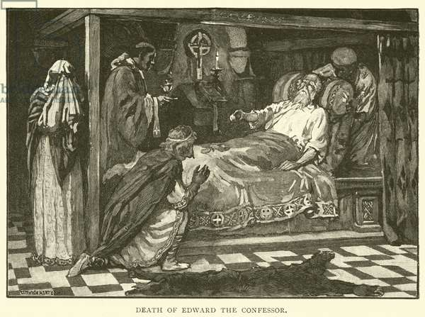Death of Edward the Confessor (engraving)
