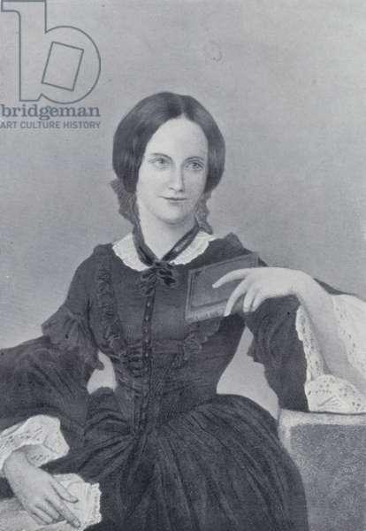Charlotte Bronte (b/w photo)