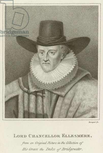 Lord Chancellor Ellesmere (engraving)
