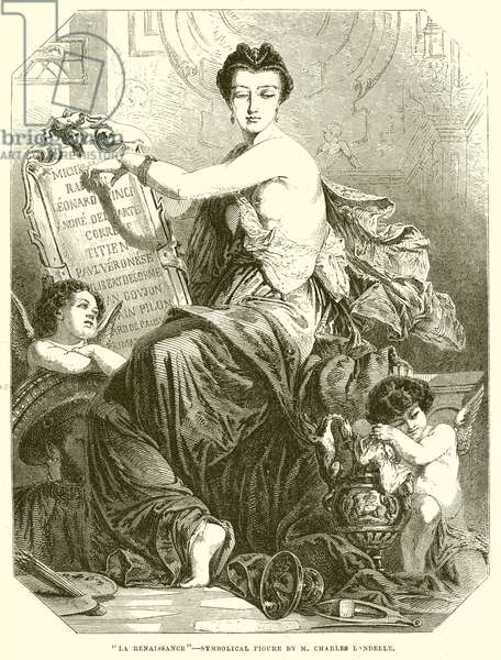 """La Renaissance"" (engraving)"