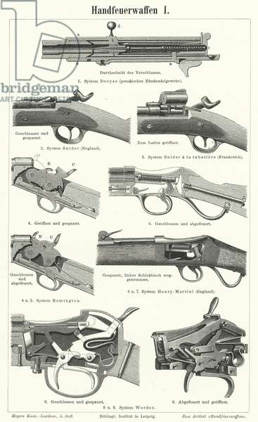 Firearms: small arms (engraving)