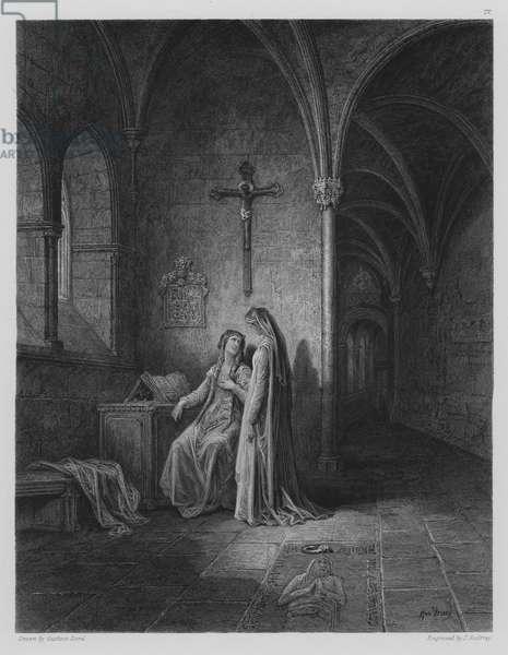 Cloister Scene (engraving)
