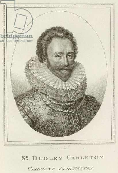 Sir Dudley Carleton, Viscount Dorchester (engraving)