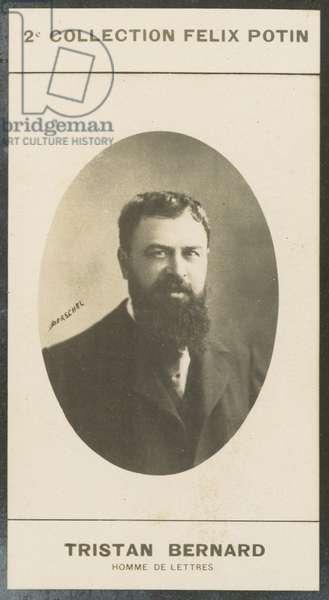 Tristan Bernard, Homme De Lettres, 1866 (b/w photo)
