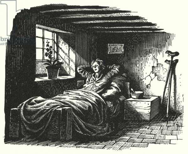 Hans Christian Andersen: The Angel (litho)