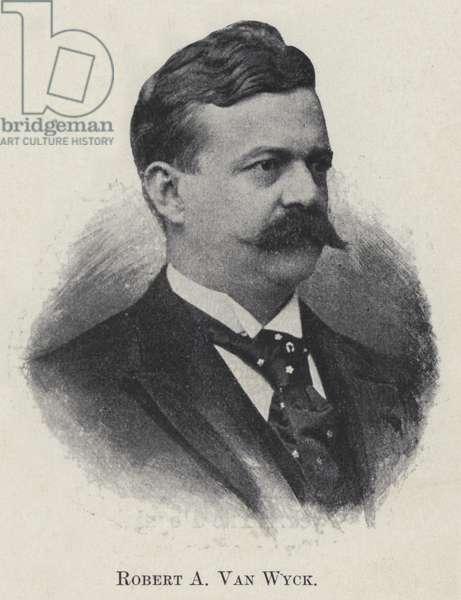 Robert A Van Wyck (b/w photo)