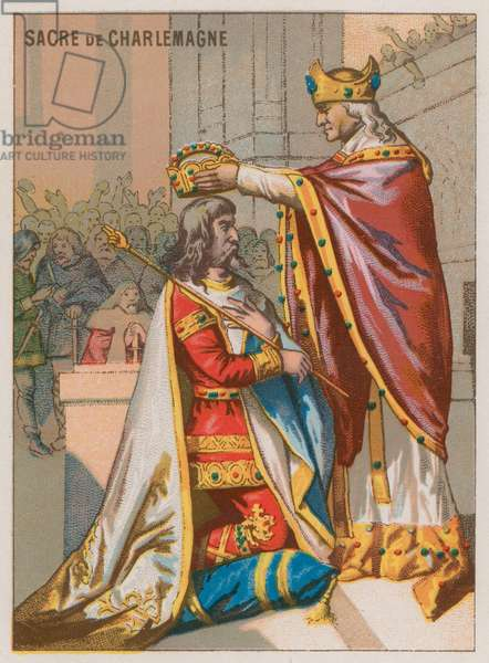 The Emperor Charlemagne (chromolitho)
