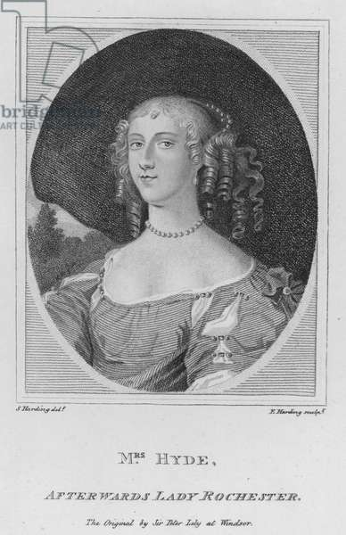 Mrs Hyde, afterwards Lady Rochester (engraving)