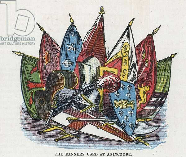 The banners used at Agincourt