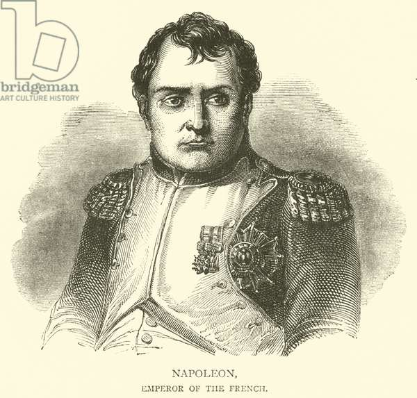 Napoleon, Emperor of the French (engraving)