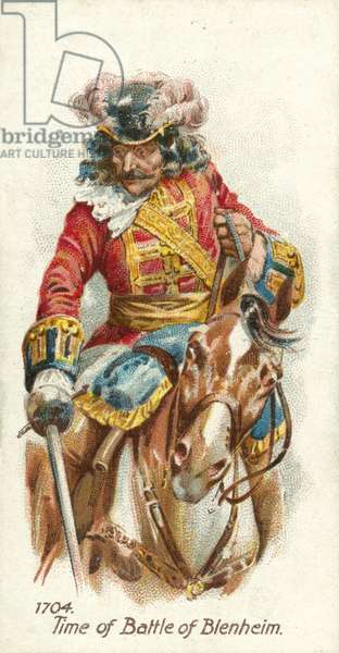 1704, Time of Battle of Blenheim (chromolitho)