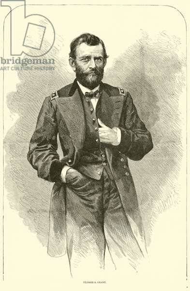 Ulysses S Grant, March 1864 (engraving)