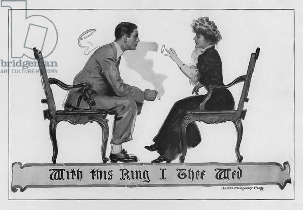 With this Ring I thee Wed (litho)