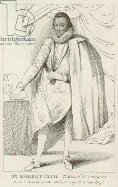 Sir Robert Cecil, Earl of Salisbury (engraving)