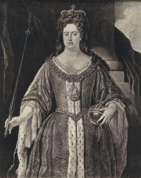 Queen Anne (litho)