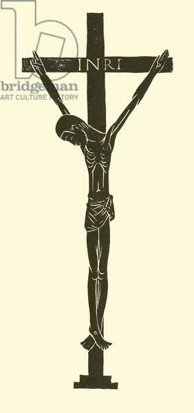 Crucifix, 1913 (litho)