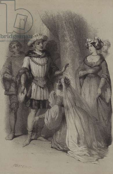 Valentine De Milan, Charles VI (engraving)