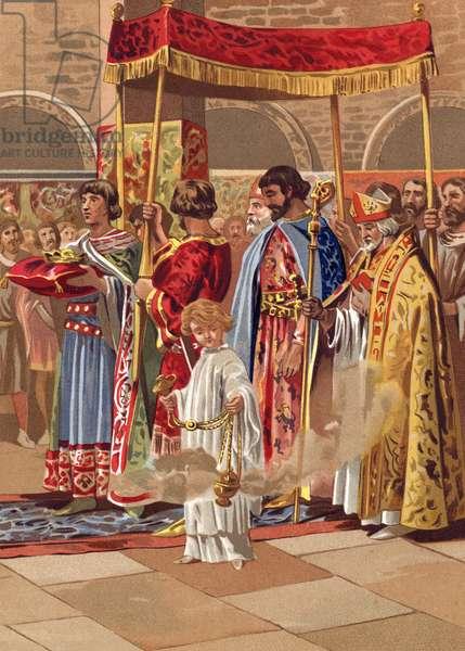 Coronation of Recaredo