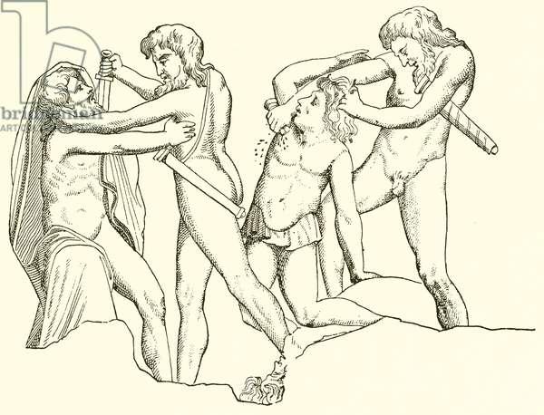 Human Sacrifices (engraving)