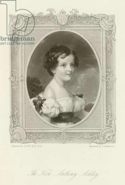 The Honourable Anthony Ashley (engraving)