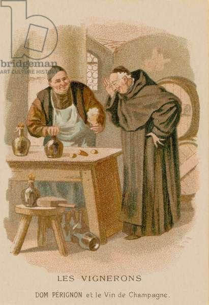 Winemakers (chromolitho)