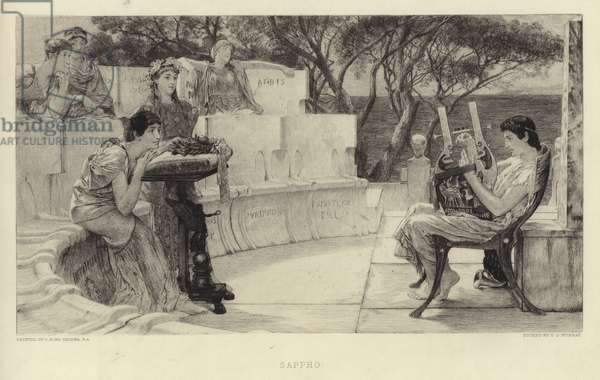Sappho (etching)