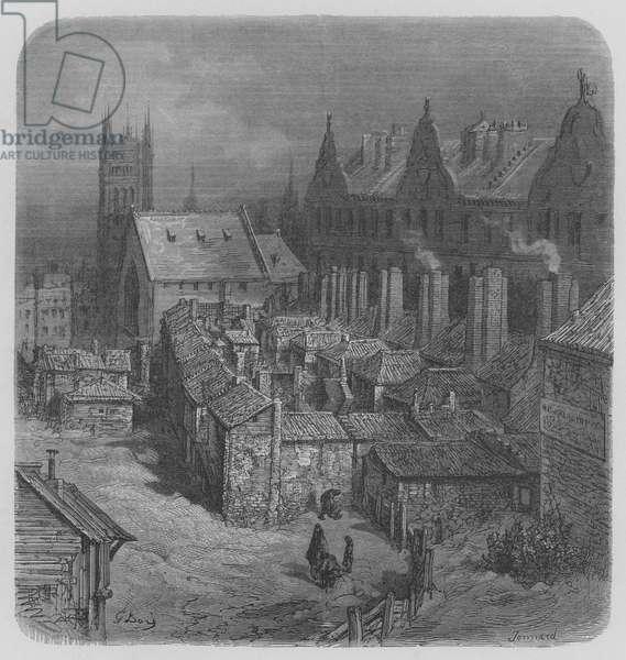Le Coin Du Diable, Pres Westminster (engraving)