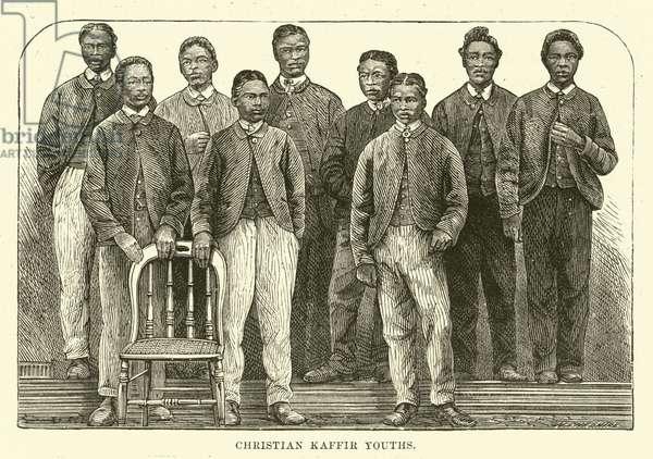 Christian Kaffir Youths (engraving)