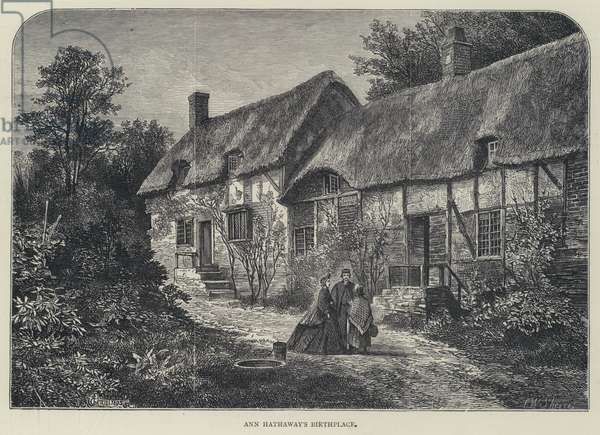 Anne Hathaway's Birthplace (engraving)