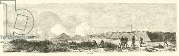 Fort Fisher, December 1864 (engraving)