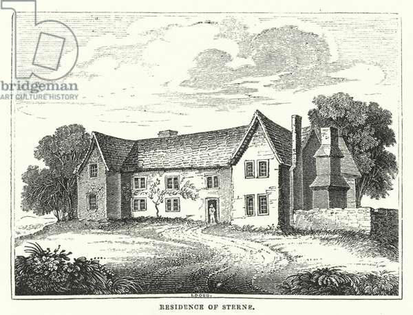 Residence of Sterne (engraving)