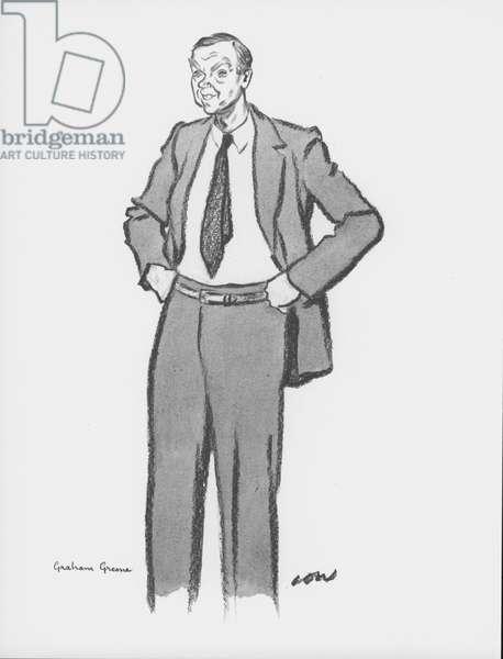 Graham Greene (litho)