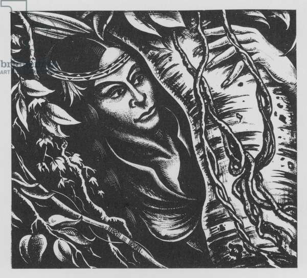 Pocahontas (litho)
