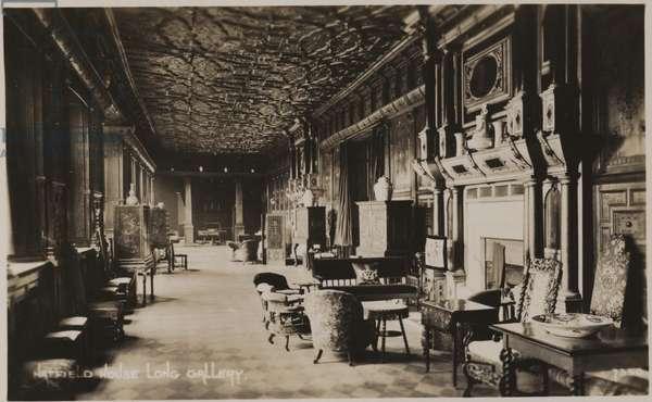 Long Gallery, Hatfield House (b/w photo)