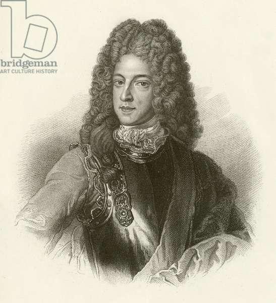 James Stuart, the Chevalier de St George (engraving)