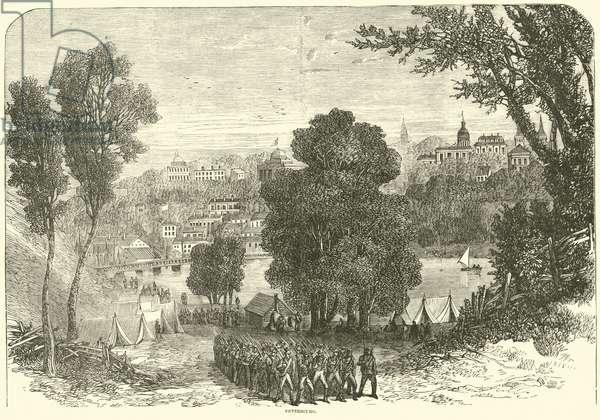 Petersburg, June 1864 (engraving)