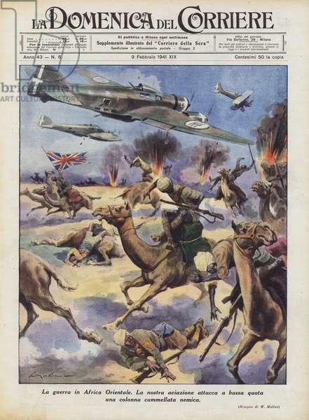 La guerra in Africa Orientale (colour litho)