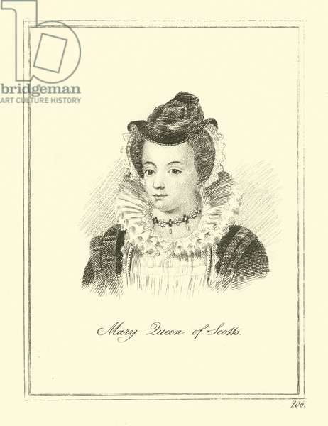 Mary Queen of Scotts (engraving)