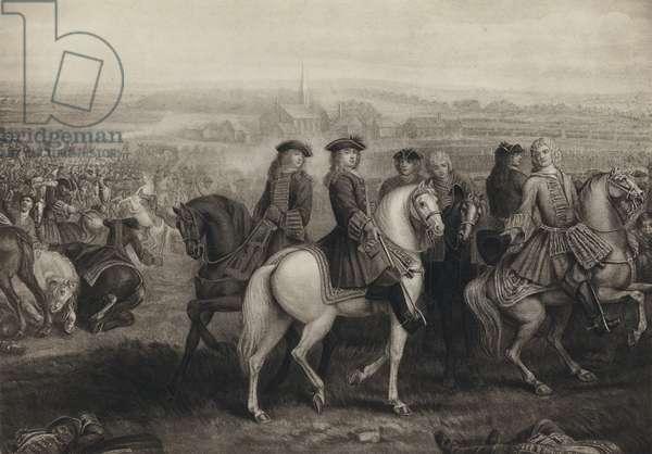 The Battle Of Blenheim (litho)